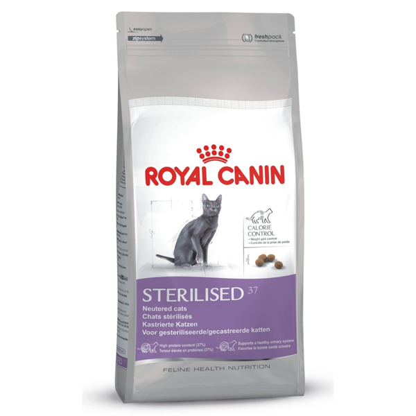 royal canin sterilised 37. Black Bedroom Furniture Sets. Home Design Ideas