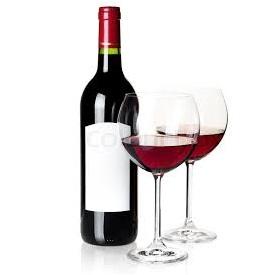 Krympehette på vinflaske